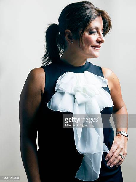 Reality TV personality Kathy Wakile is photographed for Self Assignment on September 11 2012 in New York City