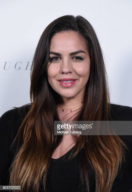 Reality TV personality Katie Maloney attends the premiere of Focus Features' Thoroughbreds at Sunset Marquis Hotel on February 28 2018 in West...