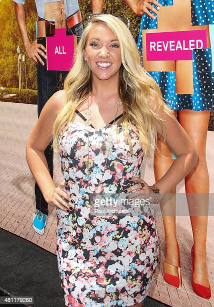Reality TV Personality Kerri Cipriani attends VH1's 'Dating Naked' Season 2 billboard unveiling on July 17 2015 in Hollywood California