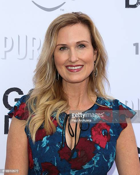 Reality TV Personality Korie Robertson attends the premiere of God's Not Dead 2 at Directors Guild Of America on March 21 2016 in Los Angeles...