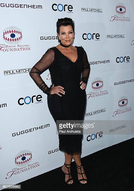 Reality TV Personality Kris Jenner attends the annual Summer Spectacular to benefit the Brent Shapiro Foundation for alcohol and drug prevention on...