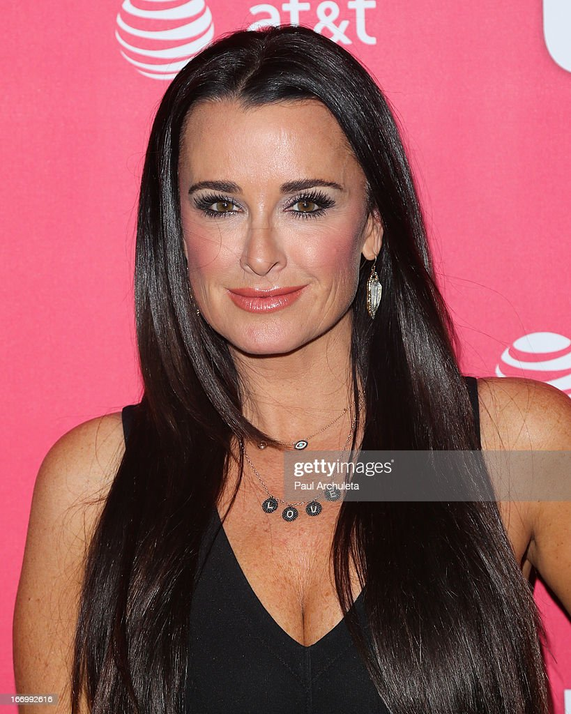 Reality TV Personality Kyle Richards attends Us Weekly's annual Hot Hollywood Style issue party at The Emerson Theatre on April 18, 2013 in Hollywood, California.