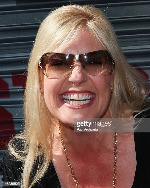 Reality TV Personality Laura Dotson attends AE's Storage Wars Lockbuster Tour at Hollywood Highland Courtyard on June 12 2012 in Hollywood California