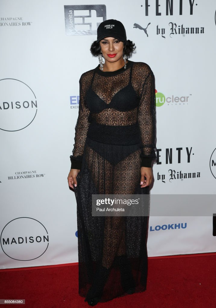 Reality TV Personality Laura Govan attends the launch of FENTY PUMA By Rihanna A/W 2017 Collection at Madison Beverly Hills on September 27, 2017 in Beverly Hills, California.