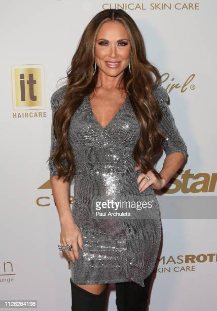 Reality TV Personality Leeanne Locken attends the 2019 PreGRAMMY event presented by OK Star In Touch and Life Style magazines at the Liaison...
