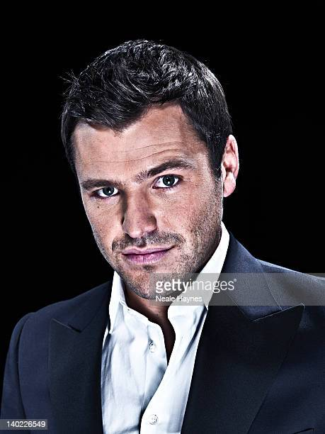 Reality tv personality Mark Wright is photographed for Live Night Day magazine on November 1 2011 in London England