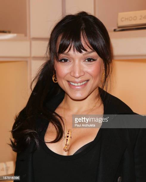 Reality TV Personality Mayte Garcia attends the Perfect World at Jimmy Choo on December 3 2012 in Beverly Hills California