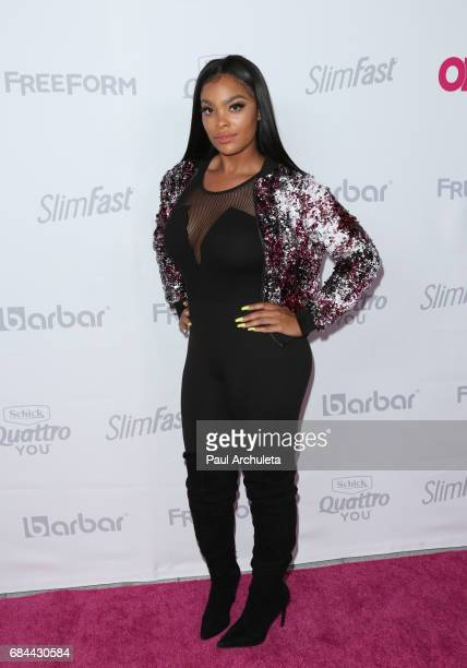 Reality TV Personality Megan James attends OK Magazine's Summer kickoff party at The W Hollywood on May 17 2017 in Hollywood California