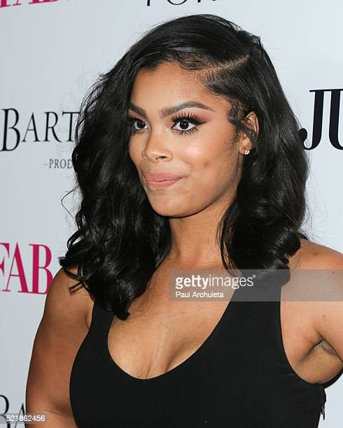 Reality TV Personality Mehgan James attends Star Magazine's 2016 Hollywood Rocks event at Le Jardin on April 14 2016 in Hollywood California