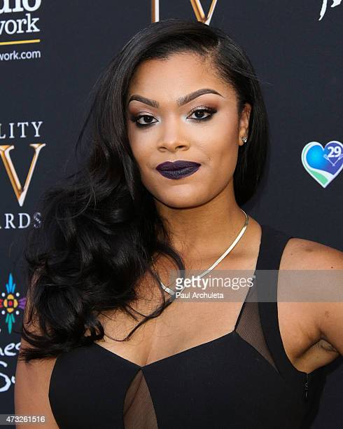 Reality TV Personality Mehgan James attends the 3rd annual Reality TV Awards at Avalon on May 13 2015 in Hollywood California