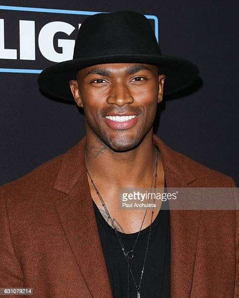 Reality TV Personality / Model Keith Carlos attends the premiere of Sleepless at the Regal LA Live Stadium 14 on January 5 2017 in Los Angeles...