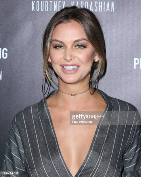 Reality TV Personality / Model Lala Kent attends the PrettyLittleThing by Kourtney Kardashian launch party on October 25 2017 in Los Angeles...