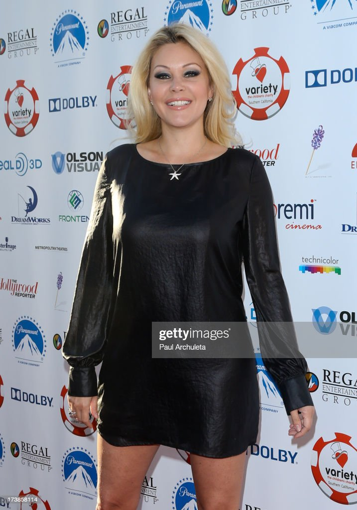 Reality TV Personality / Model Shanna Moakler attends the 3rd annual Variety Charity Texas Hold 'Em Tournament & Casino Game at Paramount Studios on July 17, 2013 in Hollywood, California.