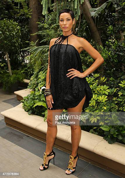 Reality TV Personality Nicole Murphy attends ABC's Mother's Day Luncheon at Four Seasons Hotel Los Angeles at Beverly Hills on May 6 2015 in Los...