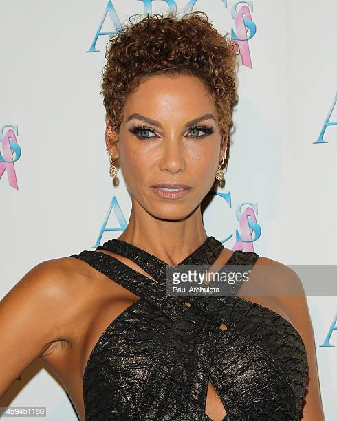 Reality TV Personality Nicole Murphy attends the 25th annual Talk Of The Town black tie gala at The Beverly Hilton Hotel on November 22 2014 in...