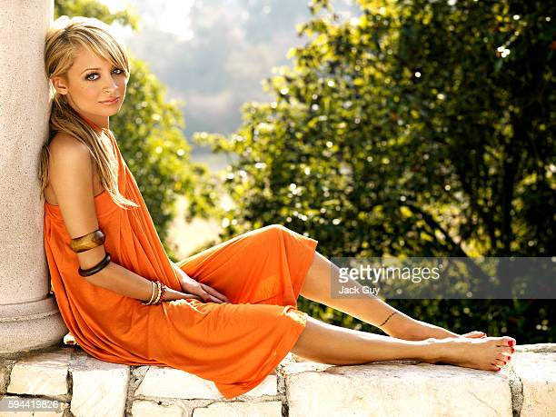 Reality TV personality Nicole Richie is photographed for OK Magazine in 2007 at home in Los Angeles, California. PUBLISHED
