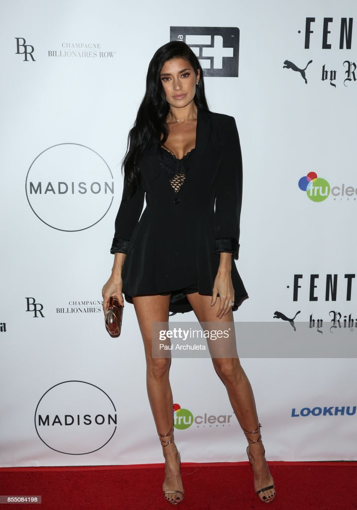 Reality TV Personality Nicole Williams attends the launch of FENTY PUMA By Rihanna A/W 2017 Collection at Madison Beverly Hills on September 27, 2017 in Beverly Hills, California.