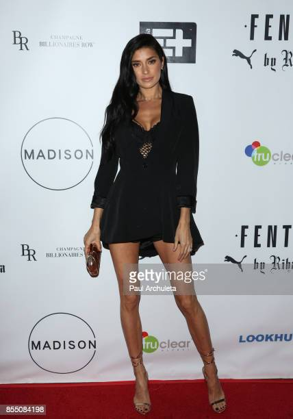 Reality TV Personality Nicole Williams attends the launch of FENTY PUMA By Rihanna A/W 2017 Collection at Madison Beverly Hills on September 27 2017...