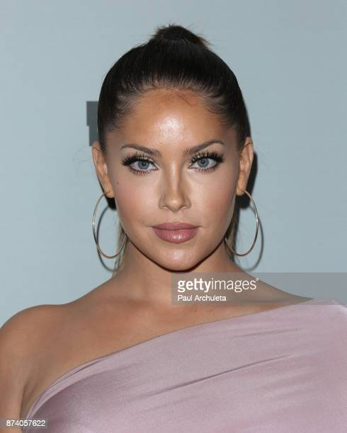 Reality TV Personality Olivia Pierson attends NBCUniversal's press junket at Beauty Essex on November 13 2017 in Los Angeles California