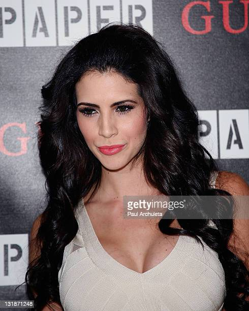 Reality TV Personality / Playboy Playmate Hope Dworaczyk arrives at the Guess and Paper Magazine's 2011 Beautiful People Party at The Standard Hotel...