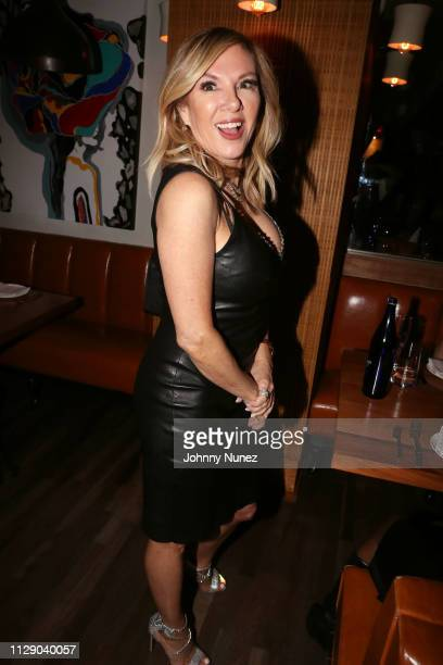 """Reality TV personality Ramona Singer attends the """"Real Housewives Of New York City"""" premiere screening at Pomona on March 6, 2019 in New York City."""