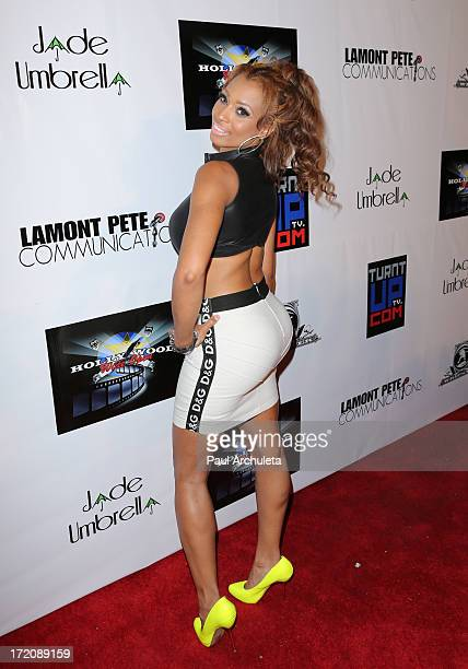 Reality TV Personality / Recording Artist Karlie Redd attends the Party After the 2013 BET Awards hosted by Chris Brown and Nick Cannon at The...