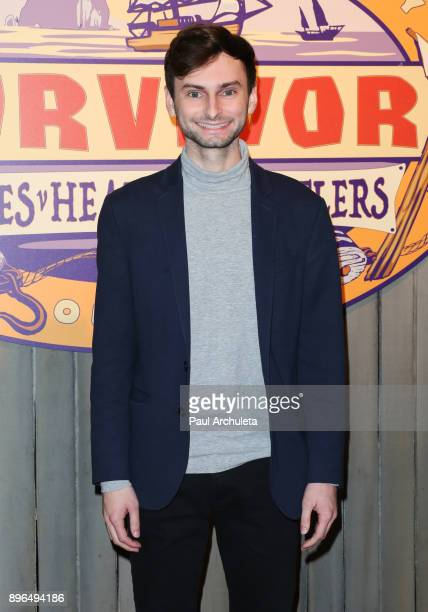 Reality TV Personality Ryan Ulrich attends the 'Survivor Heroes v Healers v Hustlers' season finale at CBS Televison City on December 20 2017 in Los...