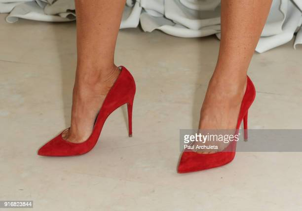 Reality TV Personality Shoe Detail attends the Gretchen Christine x Impressions Vanity PopUpParty on February 10 2018 in Los Angeles California