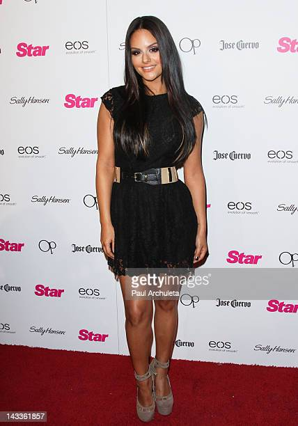 Reality TV Personality /Singer Pia Toscano attends Star Magazine's 'All Hollywood' event at AV Nightclub on April 24 2012 in Hollywood California