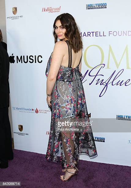 Reality TV Personality Sophie Simmons attends the Women Of Influence Awards at The Wilshire Ebell Theatre on June 21 2016 in Los Angeles California