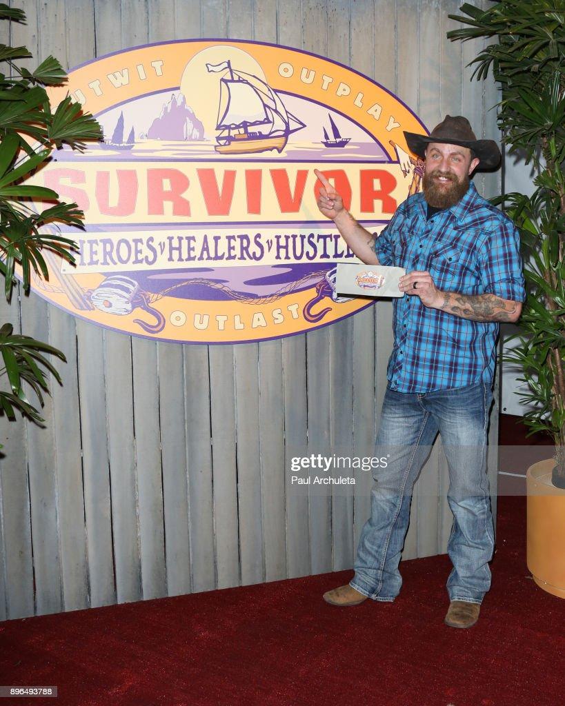 """""""Survivor: Heroes v. Healers v. Hustlers"""" Season Finale : News Photo"""