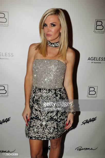 """Reality TV personality Tinsley Mortimer attends the """"Real Housewives Of New York City"""" premiere screening at Pomona on March 6, 2019 in New York City."""