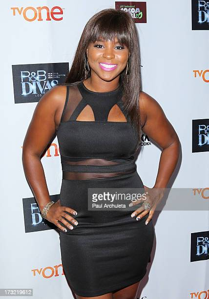 Reality TV Personality Torrei Hart attends TV One's new series 'RB Divas LA' launch party at The London Hotel on July 9 2013 in West Hollywood...