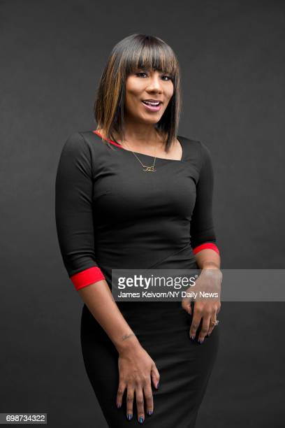 Reality TV personality Towanda Braxton is photographed for NY Daily News on February 14 in New York City.