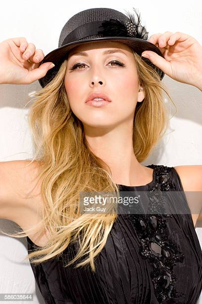 Reality TV personality Whitney Port is photographed for Vegas Magazine in 2008 in Los Angeles California PUBLISHED IMAGE