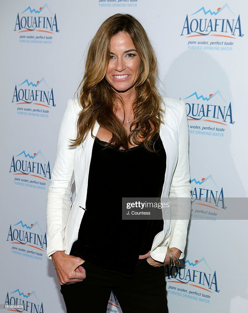 Reality TV personality/model Kelly Bensimon attends The Aquafina 'Pure Challenge' After Party at The Empire Hotel Rooftop on February 6, 2013 in New York City.