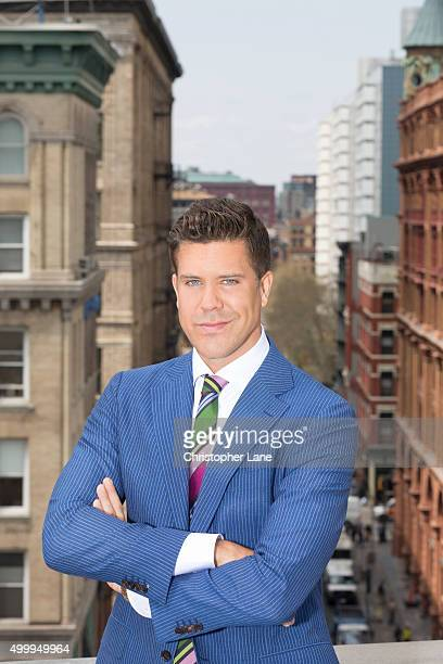 Reality TV personality/real estate agent Fredrik Eklund is photographed for The Times on April 21 in New York City PUBLISHED IMAGE