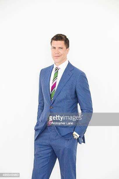 Reality TV personality/real estate agent Fredrik Eklund is photographed for The Times on April 21 in New York City