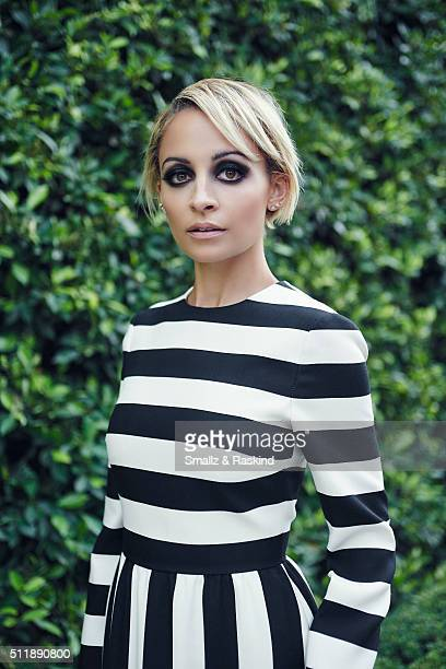 Reality TV Star and designer Nicole Richie is photographed for Legend Magazine on February 1 2016 in Beverly Hills California