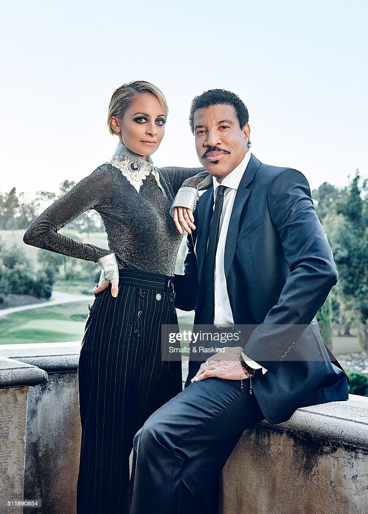 Nicole and Lionel Richie, Legend Magazine, February 1, 2016