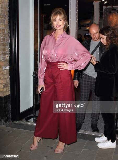 Reality TV star Ester Dee attends the Palones Launch Party at Langley Street Covent Garden in London