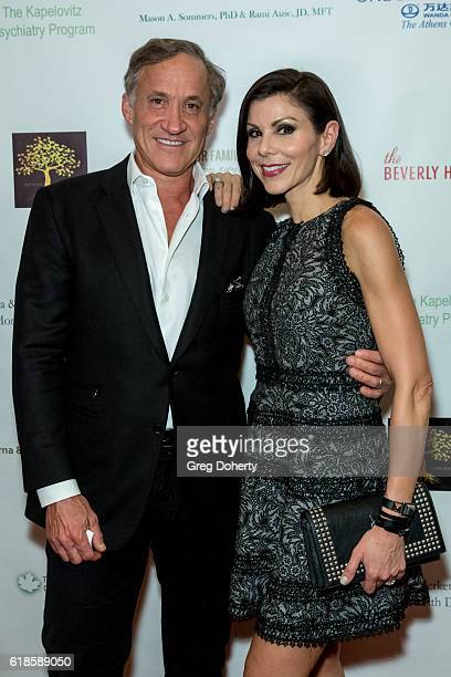 Reality TV Star Heather Dubrow and Reality Star and Plastic Surgeon Terry Dubrow arrive for the 42nd Annual Maple Ball at The Montage Hotel on...