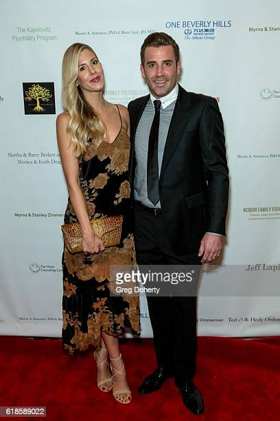 Reality TV Star Jason Wahler and his wife Ashley Wahler arrive for the 42nd Annual Maple Ball at The Montage Hotel on October 26 2016 in Beverly...