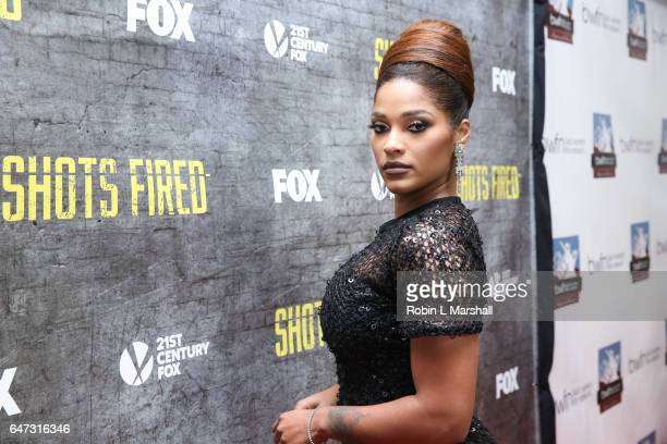 Reality TV's Joseline Hernandez attends the 2017 Black Women Film Network Opening Night Screening of 'Shots Fired' on FOX at the National Center for...
