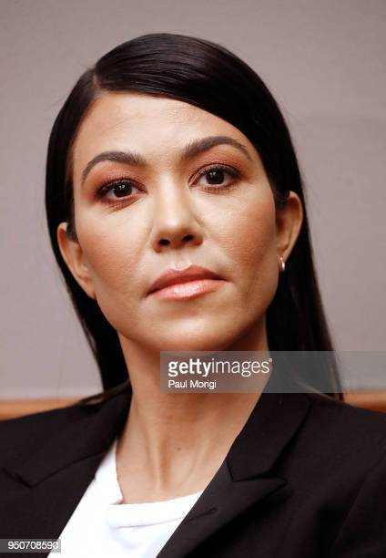 Reality TV-Star Kourtney Kardashian attends a briefing on Capitol Hill in support of bipartisan legislation aimed at reforming how the FDA regulates...