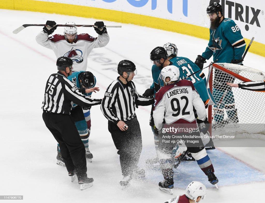 Colorado Avalanche vs San Jose Sharks Game Seven : News Photo