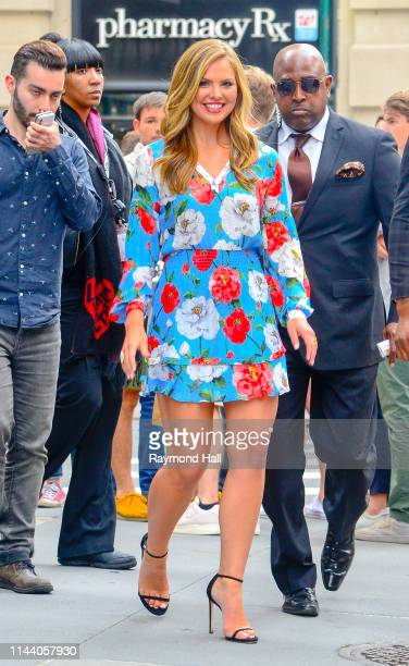 RealityTV Personality Hannah Brown is seen outside Aol Build on May 16 2019 in New York City