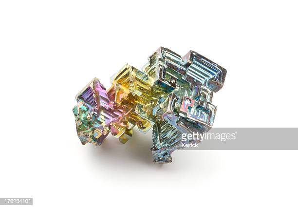 really and pure chemical elements - here shown bismuth bi - periodic table stock photos and pictures