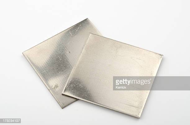 really and pure chemical elements - here shown nickel ni - periodic table stock photos and pictures