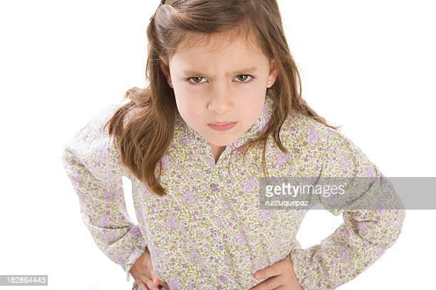 Really angry little girl II
